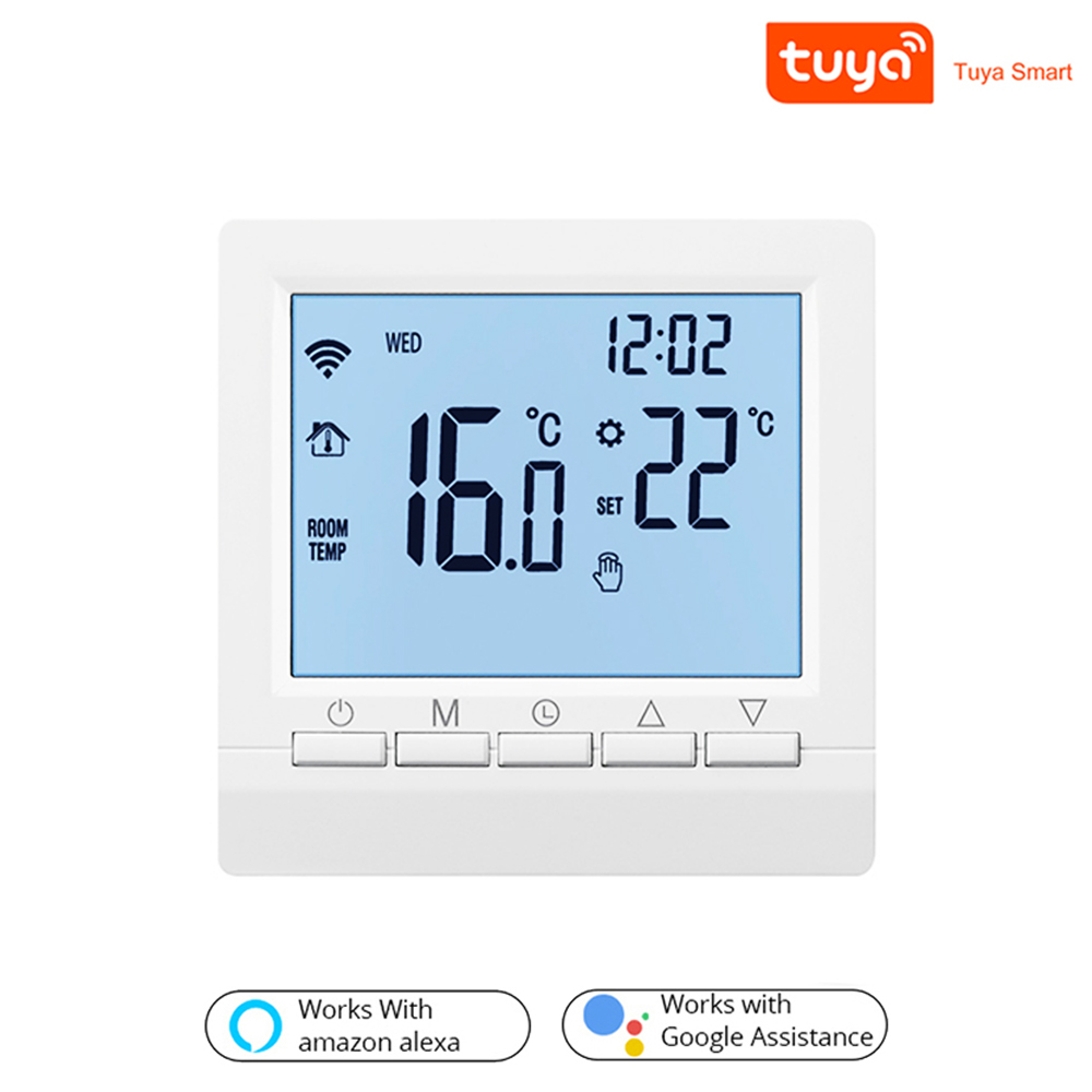 3A/16A Smart WiFi Thermostat Temperature Controller Water Electric Floor Heating Water Gas Boiler with Tuya APP Remote Control