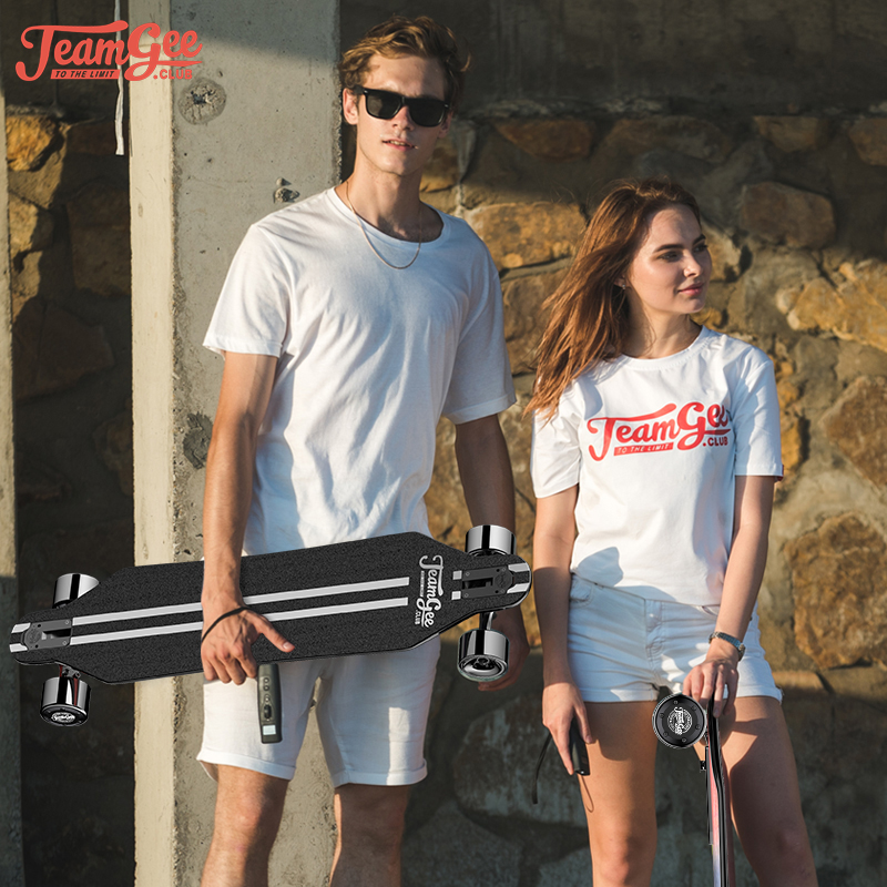 H5 Skateboard 36V Electric Four-wheeled Scooter Longboard Electric Skateboard With Wireless Somatosensory Remote Control