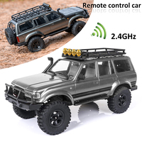 Auto telecomandata RTR hzobby By FMS RC Car 1:18 2.4G Land Cruiser 80 impermeabile Crawler Off Road Car Vehicle Remote Car Toy