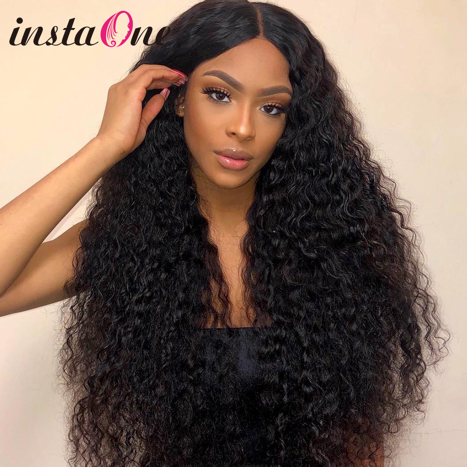 28 30 Inch Brazilian Curly Lace Front Human Hair Wigs Water Wave Frontal Wig Pre Plucked For Black Women Deep Wave Remy Hair