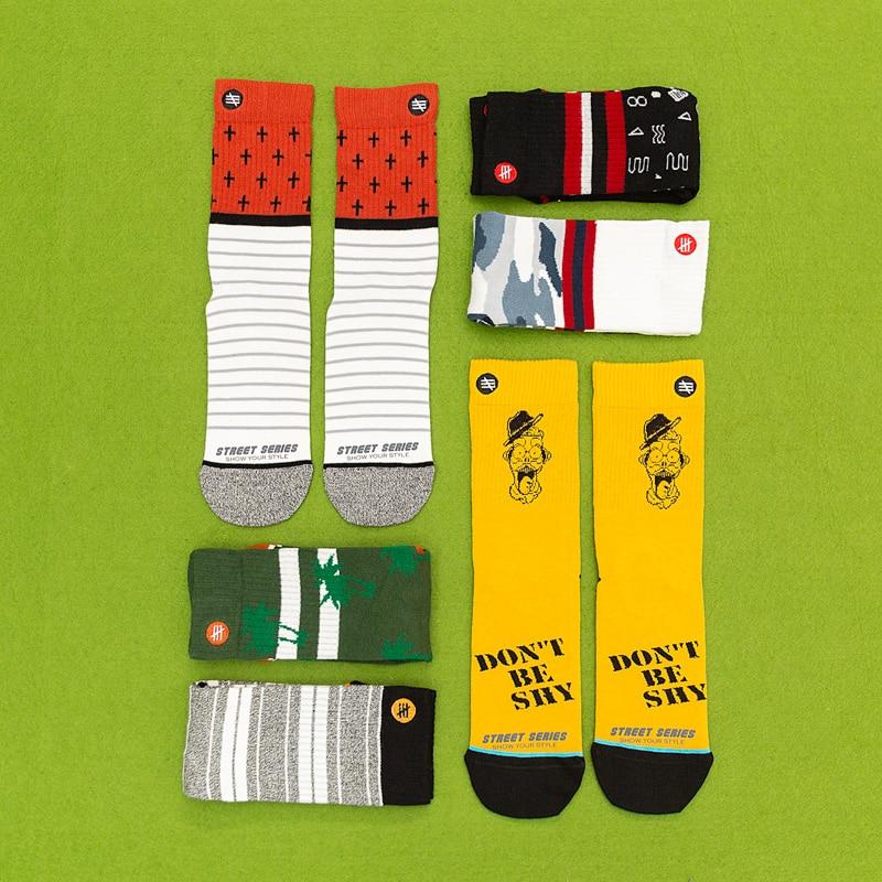 Unisex Fashion Women Socks 100 Cotton Harajuku Colorful Full Socks Women Standard Streetwear 1 Pair Size 35-43