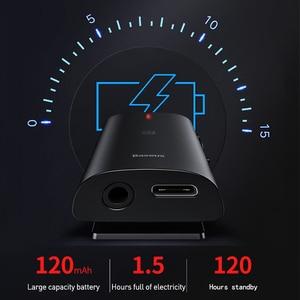 Image 3 - Baseus & Bongiovi Bluetooth מקלט 5.0 תמיכת מיקרופון 3.5mm AUX Bluetooth מתאם aptX DPS 3D סטריאו קול חי אפקט