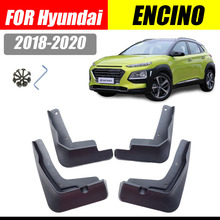 For Hyundai Kona Encino mudguard fenders mud flaps splash guards car accessories auto styling 2018-2019