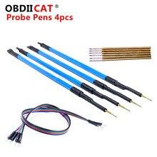OBDIICAT – 4 stylos sondes pièces/ensemble pour cadre LED BDM, broches 40 pièces/ensemble