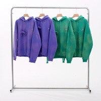 Top Version 1:1 We11done Tie Dye Hoodies Men Women HipHop oversized WELLDONE Fleeces Winter Hooded Sweatshirts Men