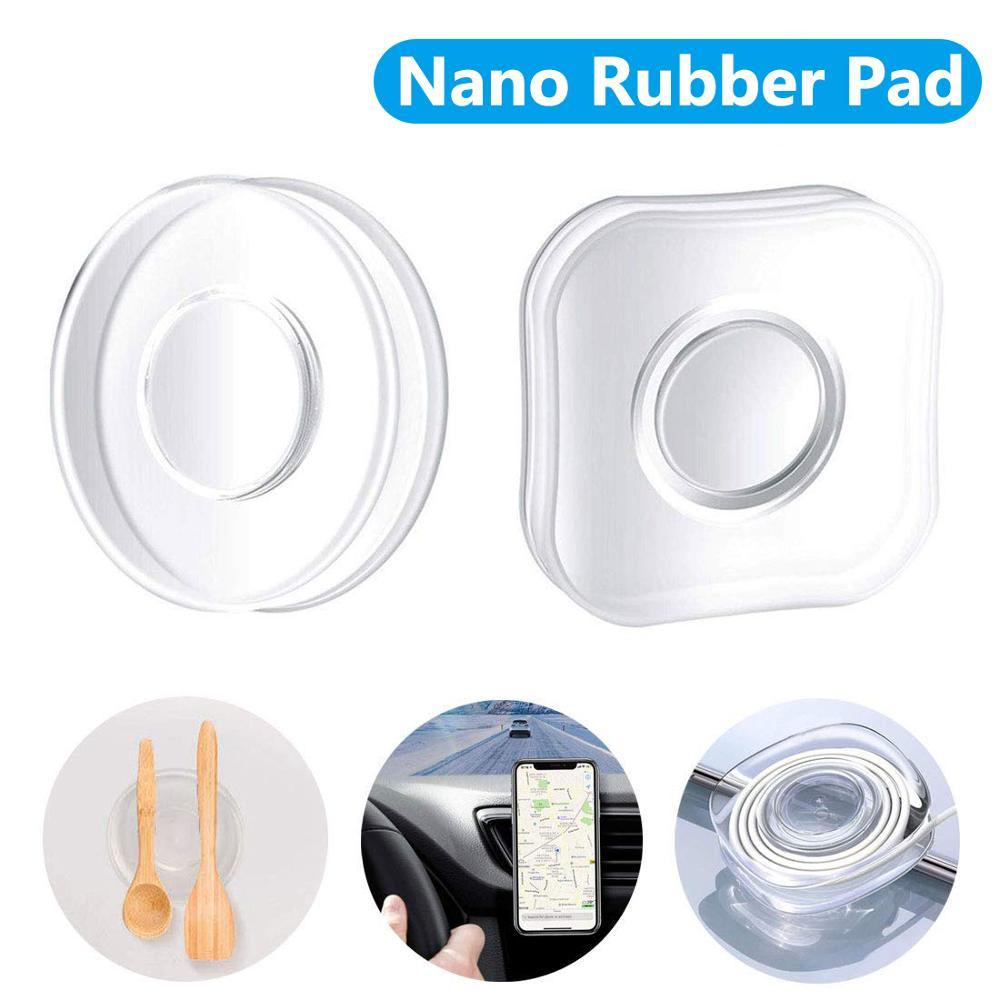 Magic Flourish Lama Nano Rubber Pad Universal Multi-Function Mobile Phone Holder For IPhone X Xs Max 11 8 Fixate Gel Pad Sticker