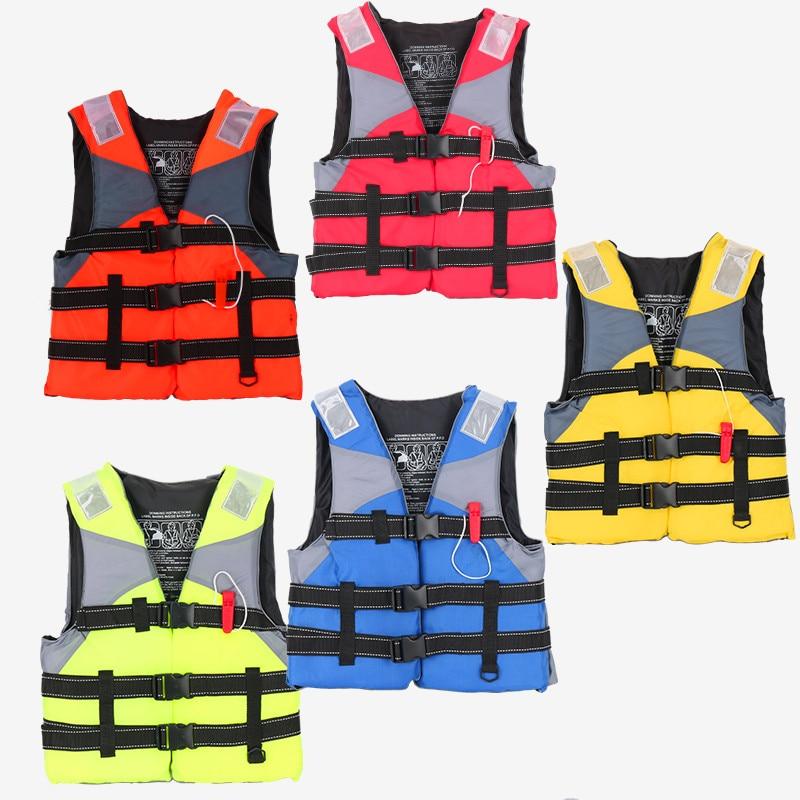 Спасательный жилет для рафтинга, спасательный жилет для детей и взрослых, одежда для плавания и Сноркелинга, костюм для рыбалки, профессион...