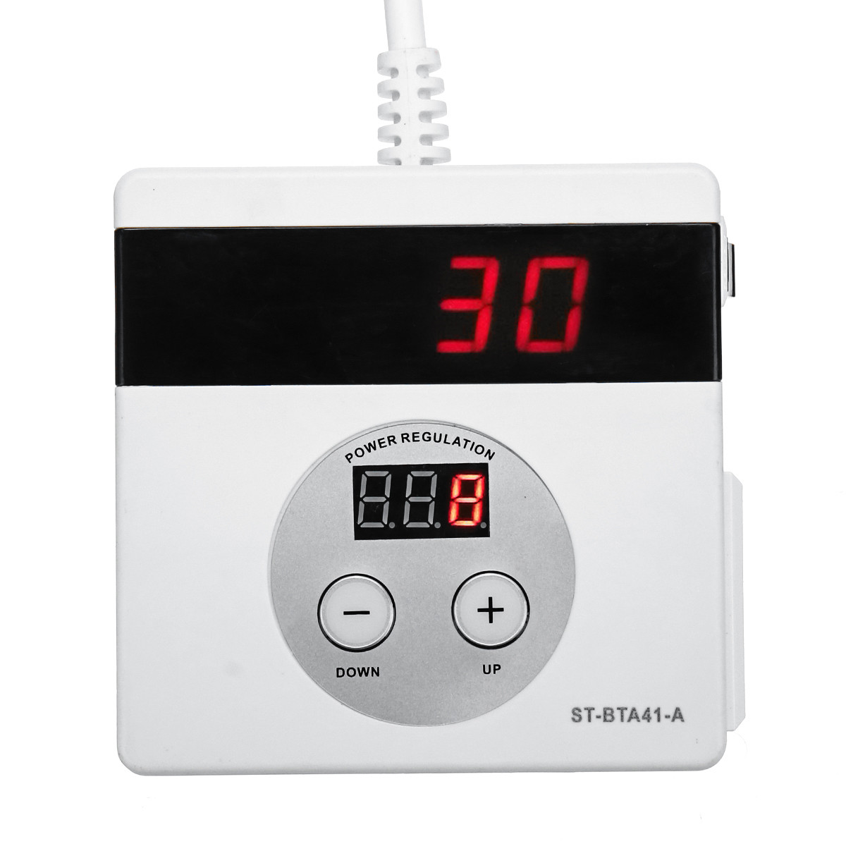 4000W AC 220V Variable Voltage Controller for Fan Speed Motor Temperature Dimmer Speed Controller