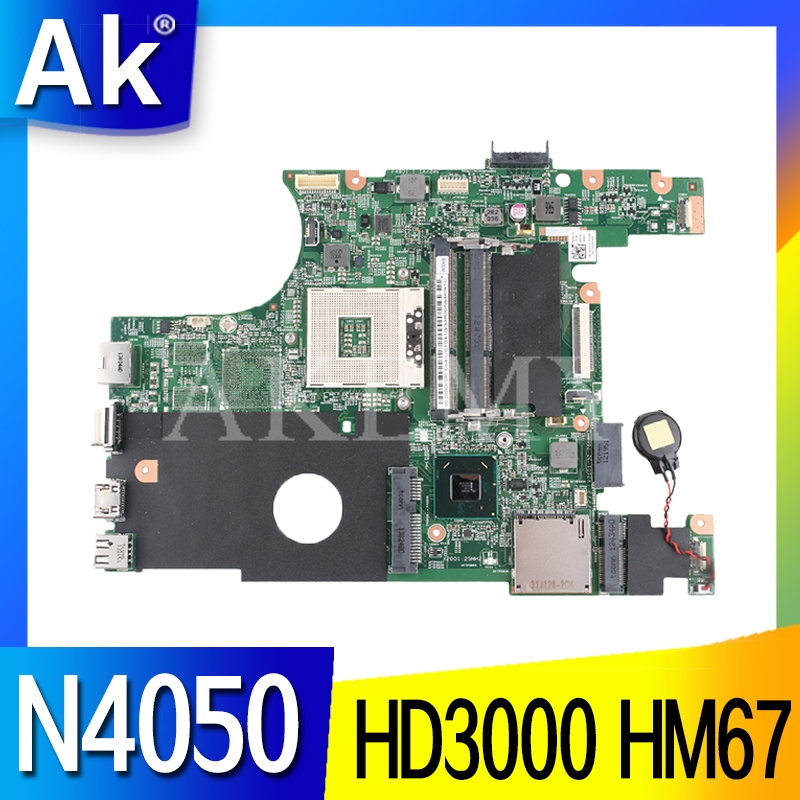 MB X0DC1 0X0DC1 Main Board For DELL INSPIRON 14R N4050 Laptop Motherboard HD 3000 HM67 S989 Works