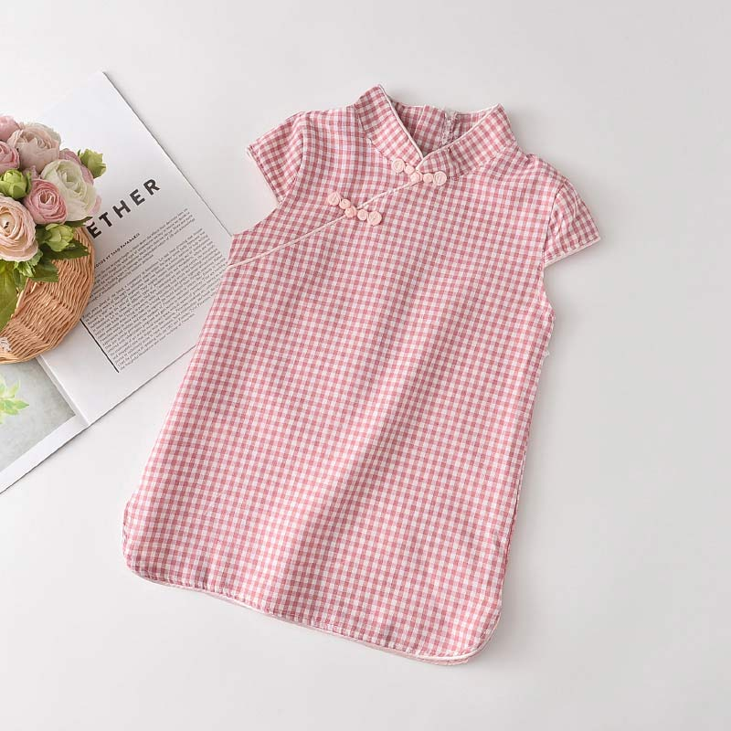 Bear Leader Girls Casual Dresses 2021 New Fashion Kids Chinese Style Clothes Baby Girl Party Outfits Flowers Clothing 2 8 Years 6