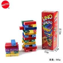 MATTEL Games UNO Stacko Topsale Puzzle Games Family Funny En