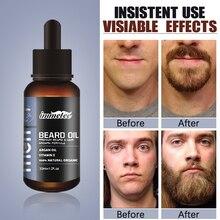 Beard Growth Oil Hair Growth Agent Thickener Hair Beard Care Product Anti Hair Loss Tonic Grow Beard Treatment Hair Serum