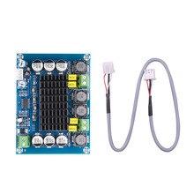 kebidumei Amplifier Board Dual channel Stereo High Power Digital Audio Power Amplifier Board 2*120W Stereo AMP Module XH M543