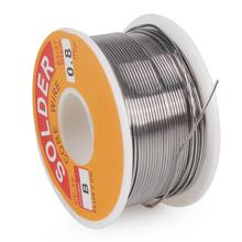 Tin lead Rosin Core Solder Wire  0.8mm 1.0mm 2% Flux Reel Welding line Tin Lead Solder Iron Welding Wires Reel