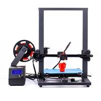 2019 novo design pré-assmbly flsun impressora 3d grande área de impressão 300*300*400mm super quente retomar falha de energia impressão