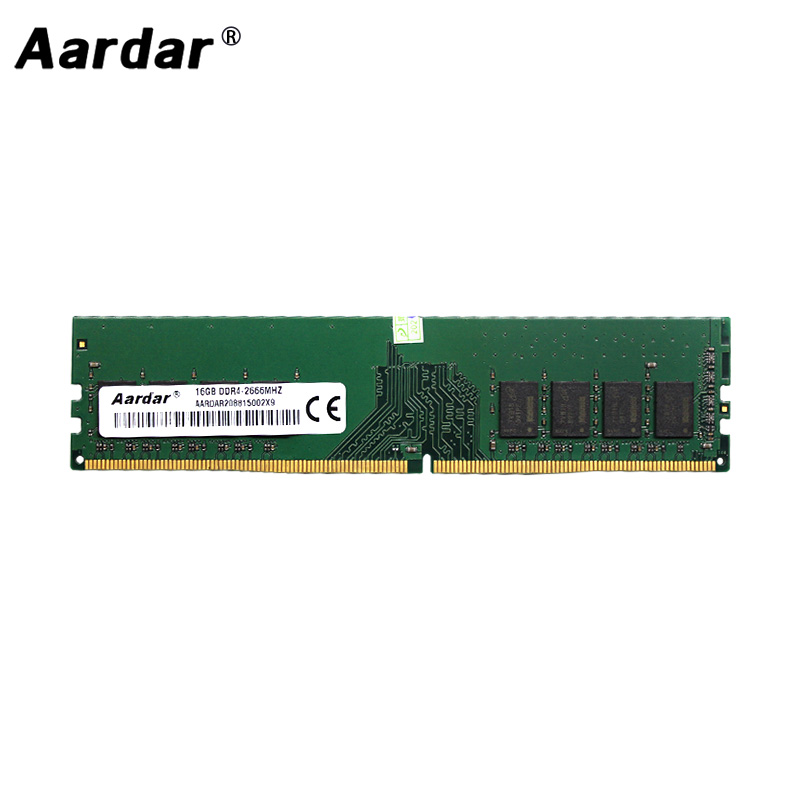 Aardar 16GB 2400MHz 8GB 2666MHz 16GB DDR4 For PC 4GB 2400MHz Memory RAM DDR4 2133MHz 4GB 8GB For Desktop Memory image