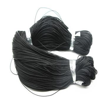 100 metrów woskowany przewód poliestrowy String Thread 1mm Home jewely bransoletka rope Home odzież tekstylna torby diy akcesoria tanie i dobre opinie BSTAYLYEXI Nylon bawełna Pleciony Ekologiczne 100m xh00102 Powlekane Sznury Buty Tekstylia domowe Odzieży ROUND Jewelry Findings