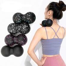 Liberação myofascial fitness amendoim massagem bola fascia massageador rolo pilates yoga ginásio equipamentos de exercício relaxante bolas
