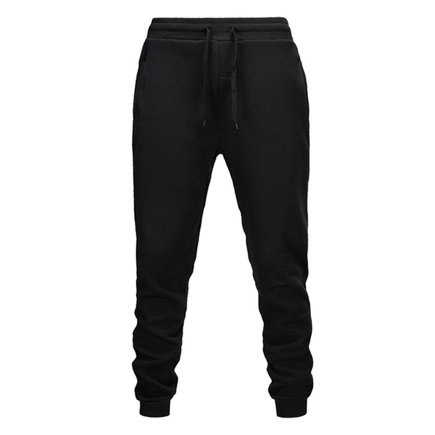 Shun Princes Black Men Pants  Fashions Joggers Pants Male Casual Sweatpants Bodybuilding Fitness Track Pants Men Sweat Trouser