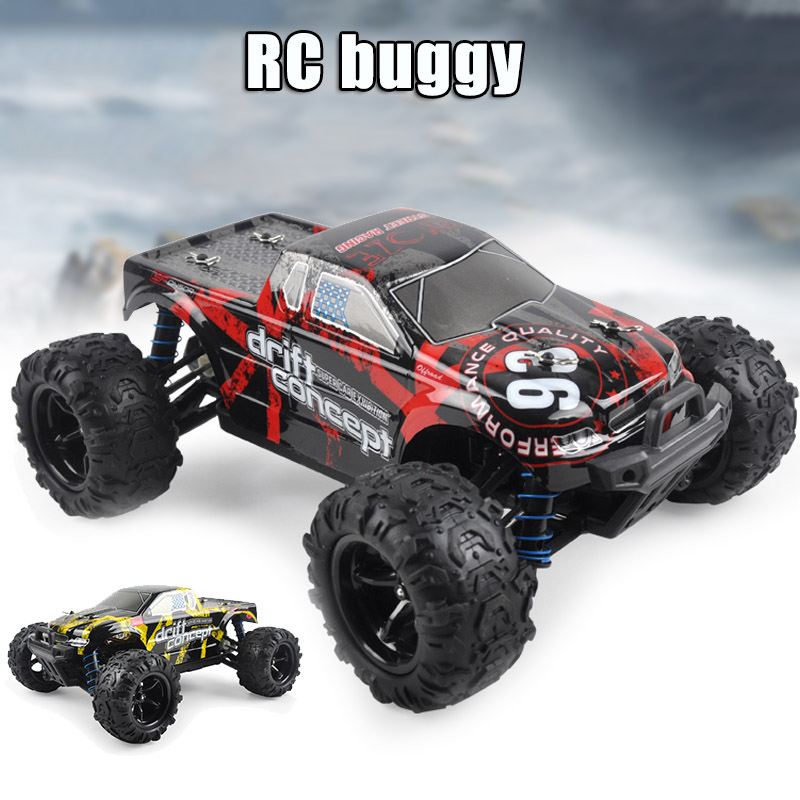 Hot Selling 1:18 Scale RC Car High Speed Remote Control Car for Kids Adults 4WD Off Road Trucks All Terrain Toy LBV