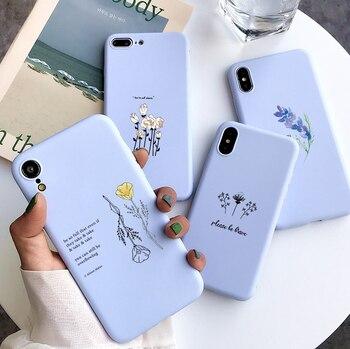 Little Flower Case For Huawei P Smart 2020 Y8S Y8P Y7 Y7P Y6 Y6P Y5P Y9 Prime 2018 Y8 P40 P30 P20 P1