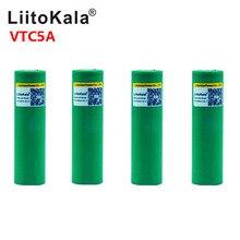 LiitoKala Max 40A Xung 60A Ban Đầu 3.6V Pin Sạc 18650 VTC5A 2600 MAh Cao Cấp Thoát Nước 40A Pin