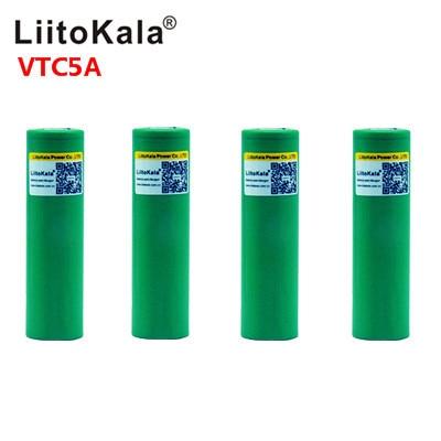 Liitokala 最大 40A パルス 60A オリジナル 3.6 v バッテリー 18650 充電式 VTC5A 2600 mah 高ドレイン 40A バッテリー