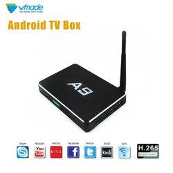 Oryginalny Android 6.0 Amlogic S905X 2GB 8GB TV  pudełko H.265/HEVC odtwarzacz multimedialny wsparcie YouTube WIFI hulu dekoder