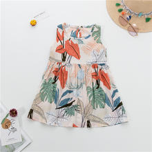 2020 детская одежда платья для девочек платье без рукавов с