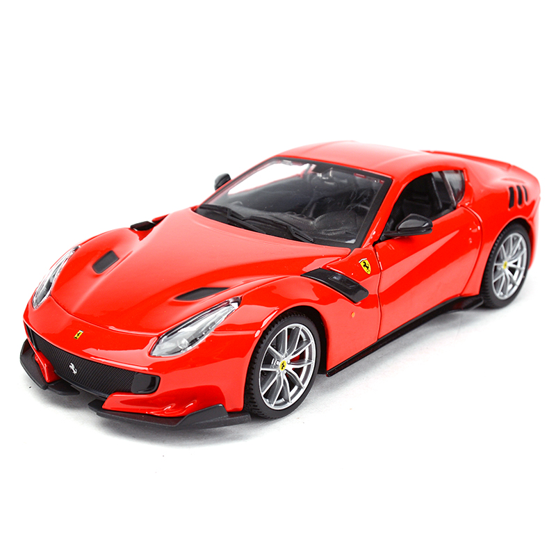 Bburago 1:24 F12 Tdf Sports Car Static Simulation Diecast Alloy Model Car