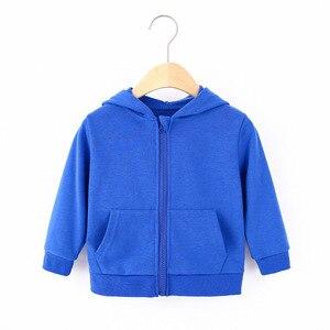Image 4 - ילדי בגדי בני מעילי ילדי ברדס רוכסן צבעים בוהקים ספורט תינוק אופנה הדפסת מעיל תינוקות עמיד למים נים עבור בנות
