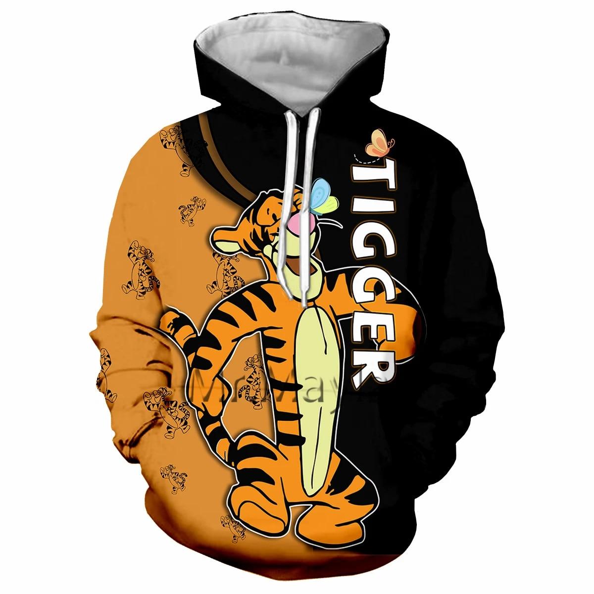 Mens 1Onesie Tiger 3D Animal Hooded Fleece Jumpsuit Junior Boys Fancy Sleepsuits