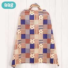 AAG Nursing Breastfeeding Cover Apron Outdoor Mummy Shawl Privacy Feeding Covers Baby Car Seat Stroller Breast Scarf