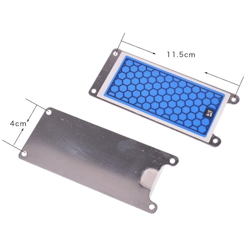 2 stück Tragbare Keramik Ozon Generator Doppel Integrierte Keramik Platte Ozonisator Luft Wasser Luftreiniger Parts-5G