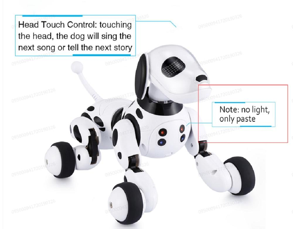 Купить с кэшбэком Robot Dog Electronic Pet Intelligent Dog Robot Toy 2.4G Smart Wireless Talking Remote Control Kids Gift For Birthday