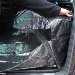 Image 4 - AUTOYOUTH estera de maletero de coche de lona de PE, forro impermeable, manta de protección de coche para una mayor limpieza en su coche