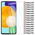 9D Volle Schutz Glas Für Samsung Galaxy A02 A12 A32 A42 A52 A72 F41 F62 Screen Protector M02 M12 M01 m11 M21 M31 M51 Glas