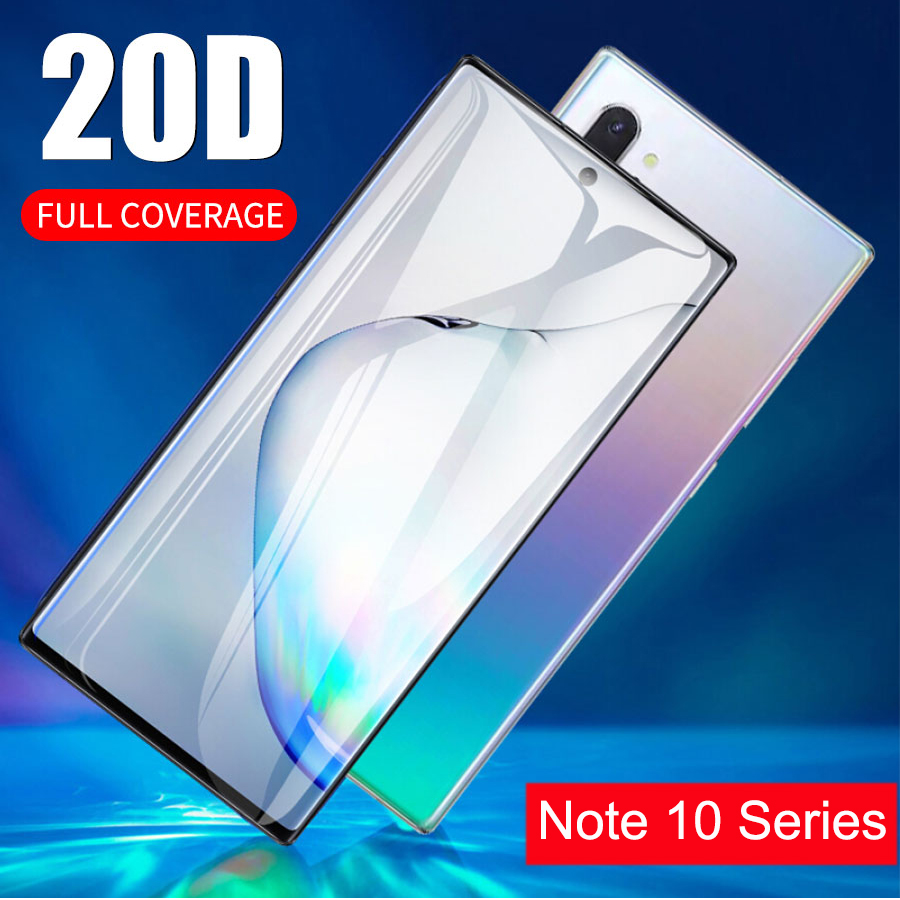 Tempered <font><b>Glass</b></font> Phone <font><b>Case</b></font> for Samsung Note 10 Plus Pro Protective <font><b>Glass</b></font> Shell Accessories on Galaxy Not Note10 Not10 10pro Glas image
