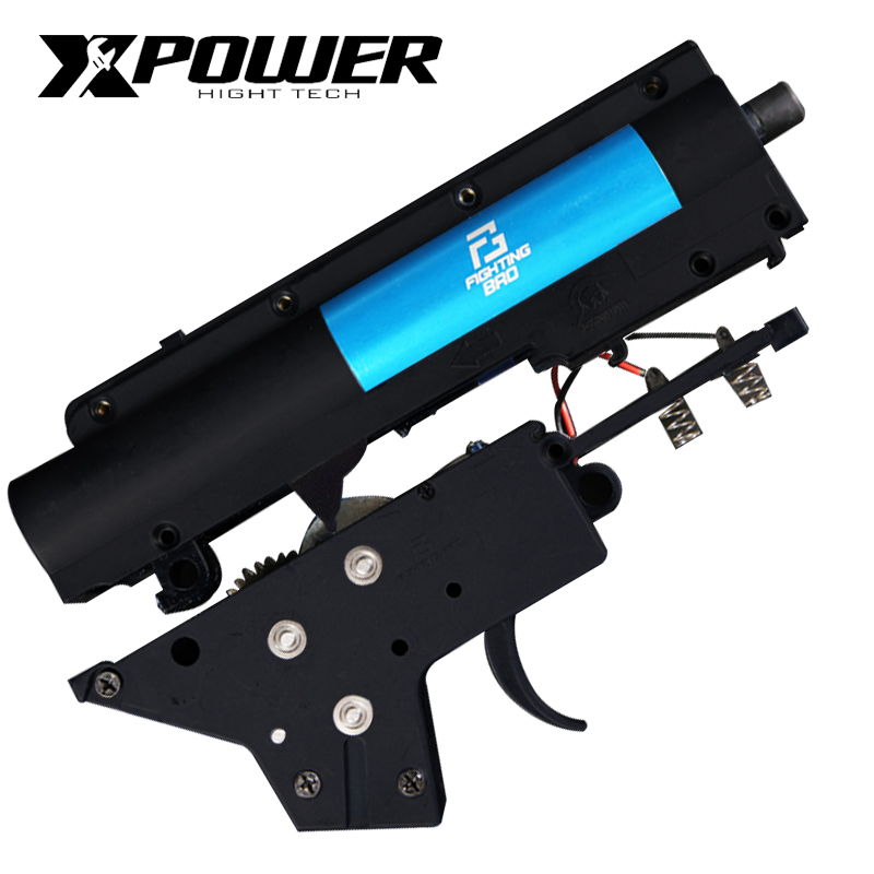 XPOWER 3.0S FightingBro Split Gel Blaster Gearbox Ver.2 Nylon Update BD556 Maopul TTM SLR LDT416 Receiver