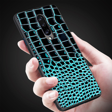 Crocodile Pattern Genuine Leather Back Cover Phone Case For Sony Xperia 1 XZ3 Mobile Shell