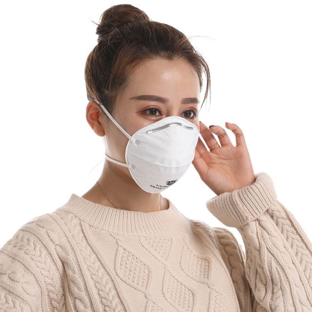 Anti Flu Face Mask Adjustable Strip SARS VIRUS Dust Outdoor Mask For Child Adult Mask n95% Dropshipping 4
