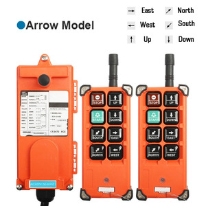 Image 4 - Industrial remote controller 12V 24V 36V 220V 380V 2 transmitter + 1 receiver wireless electric hoist F21 E1B