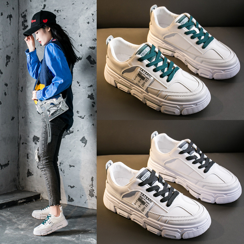 All Kinds Of Little White Shoes For Women Spring New Student  High Air Permeability Casual Shoes For Women Sneakers