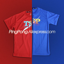 TSP Table Tennis T-shirts for Men / Women 83501 83505 Ping Pong Jerseys Cloth Sportswear Training T-Shirts