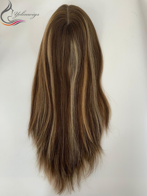 Best Quality European Virgin Hair Topper Women Hair Pieces Best Selling Kippah Fall Whopper In Stock