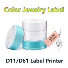 Label-Paper D11 Price-Label Thermal-Printing Waterproof for Jewellery Tear-Resistant