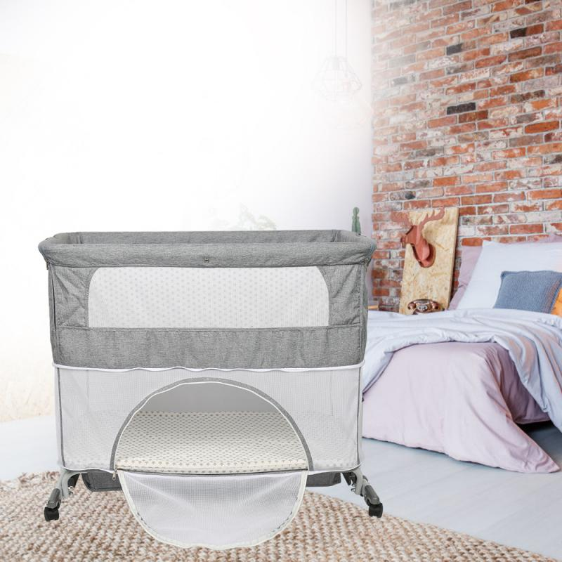Infant Game Bed 2 In 1 Newborn Lounger Portable Baby Nest Bed Cotton Crib Toddler Bed Baby Nursery Carrycot Sleeper Bed HWC