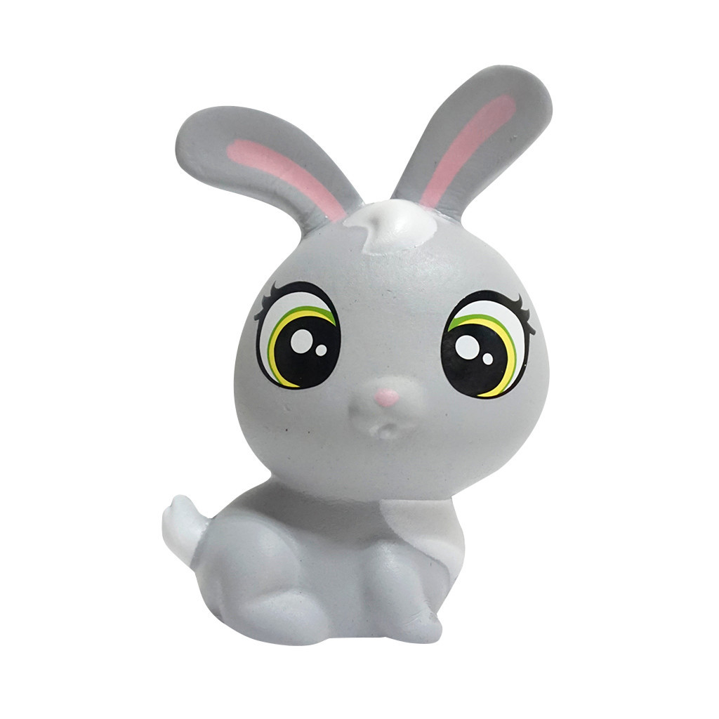 Simulation Cartoon Rabbit Scented Squeeze Toy Slow Rising Creative Soft Squeeze Stress Relief Fun Kid Toy Gift Anti Stress #A