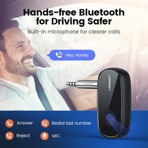 Image 3 - Ugreen Bluetooth Receiver 5.0 aptX LL 3.5mm AUX Jack Audio Wireless Adapter for Car PC Headphones Mic 3.5 Bluetooth 5.0 Receptor