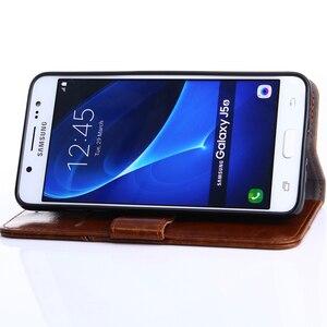 Image 5 - Para Huawei P40 P30 Pro P9 Lite Mini P20 P10 P Smart Plus Z 2019 2018 P8 Retro de moda empalme Flip caja de teléfono de cuero cubierta